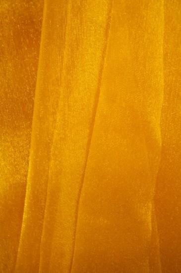 Органза оранжевый
