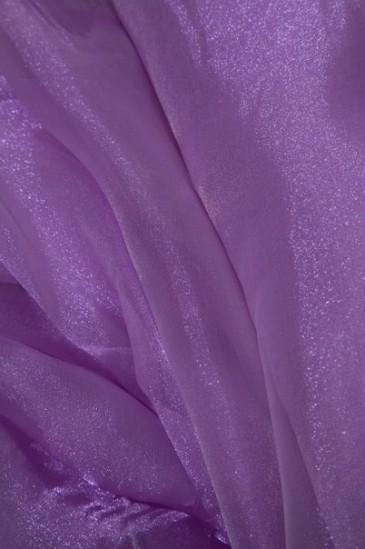 Органза фиолетовый