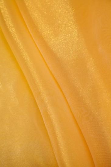 Органза желтый