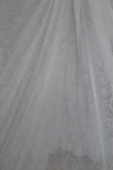 Тюль Каролин (белый)