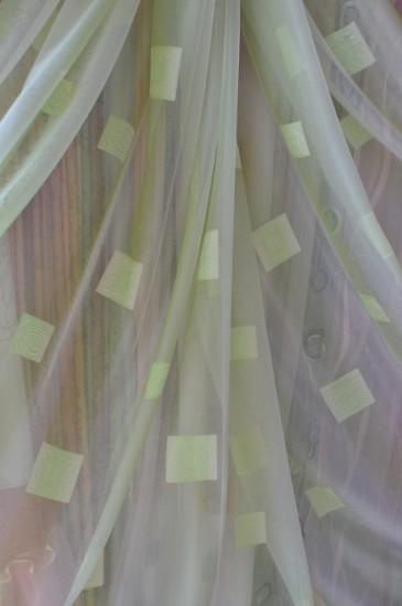 Тюль Мэриен (зеленый)