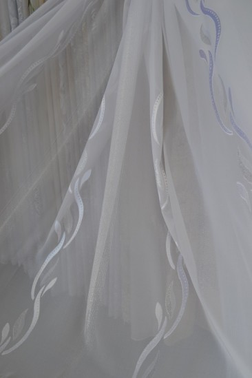 Тюль Ника (белый)