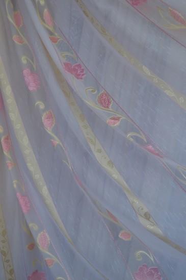 Тюль Саманта (розовый)