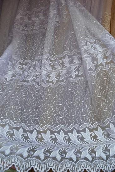 Тюль Каролина (белый)